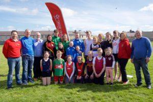 The Juvenile Kildare Athletics Team