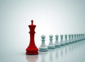 CHESS PIECES LEADERSHIP